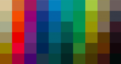 Colours and more ….