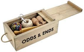 Odds and Ends …